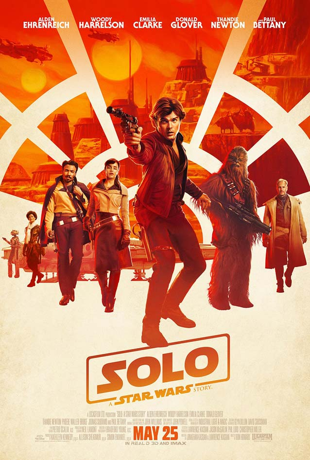 BLT Communications' theatrical one-sheet for Solo: A Star Wars Story