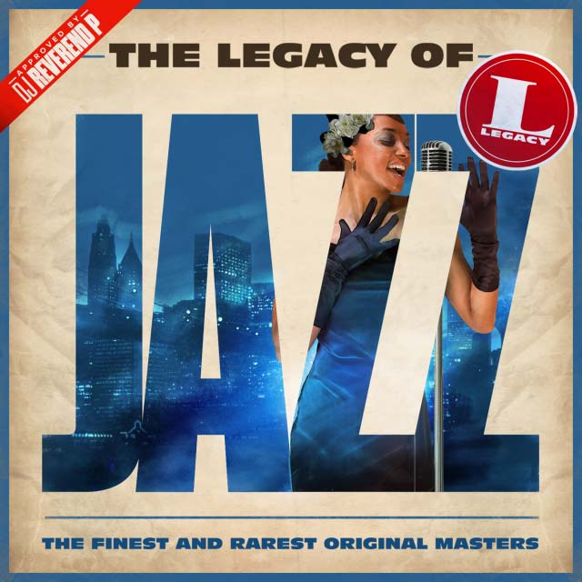 Hachim-Bahous' album sleeve artwork for Sony Music's The Legacy of Jazz